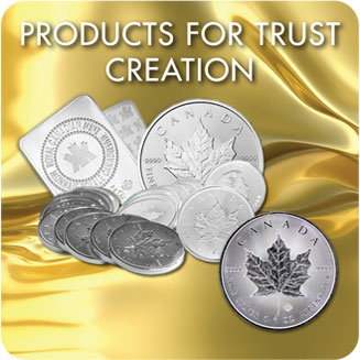 Products for trust creation